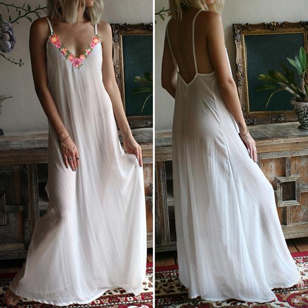 Summer, Plus Size, vest dress, Halter