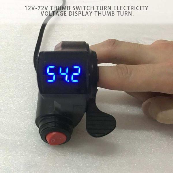 ledbikethumbthrottle, led, Electric, electricbikepowerswitch