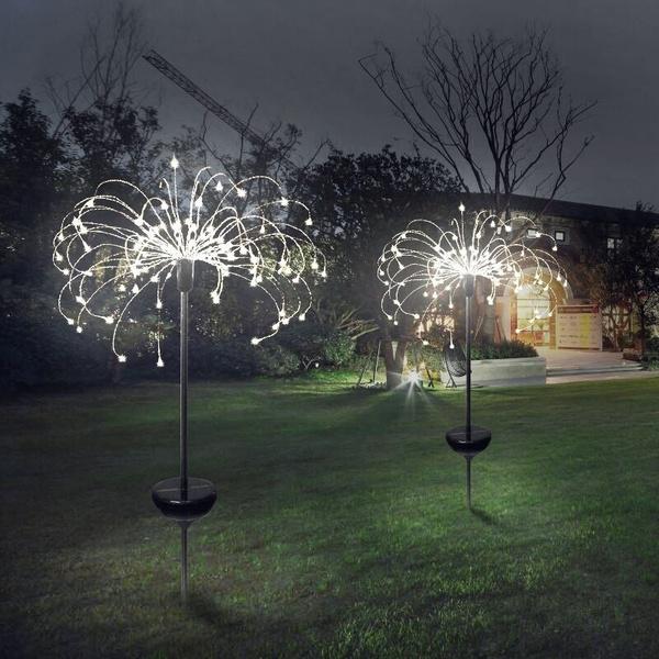 Holiday, Garden Decor, Outdoor, fireworklight