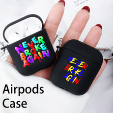 case, casecoverforairpod, TPU Case, letter print
