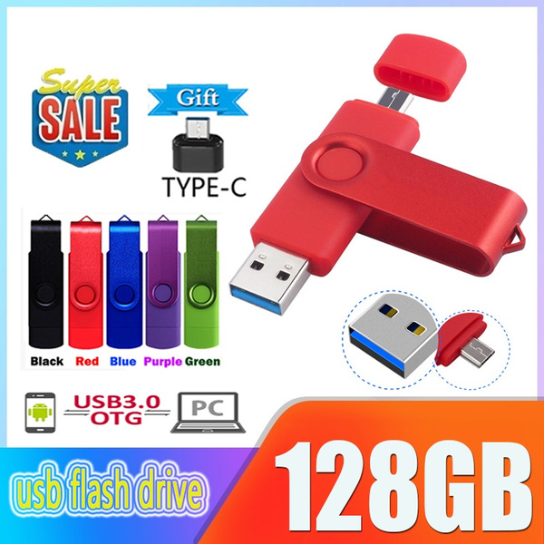 2020 new High speed pen drive 128GB 64GB 32GB 8GB 1GB USB 3.0 OTG Flash  Drive Dual Micro-USB and USB A Connectors for Smartphones, Tablets With  Gifts USB OTG Type-C   Wish