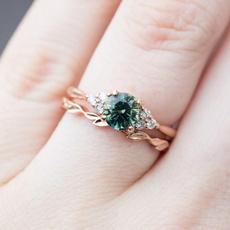 Fashion, wedding ring, gold, natural diamond