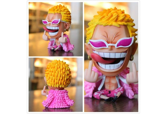 Doflamingo One Piece Xmas gift Sitting Despise Ver PVC Figure