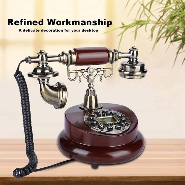 Antique, desktelephone, Home Decor, vintagetelephone