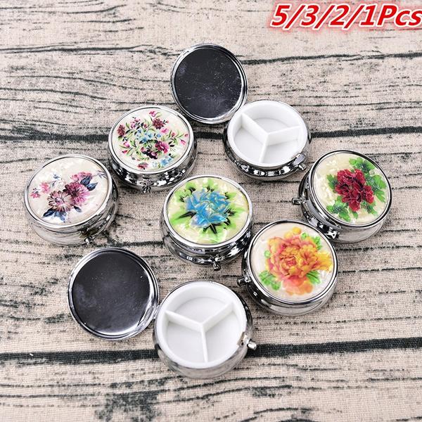 Box, case, Flowers, pillstoragebox