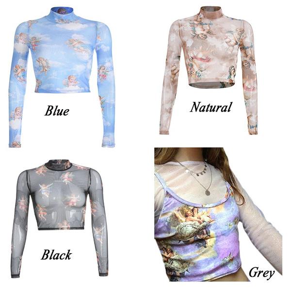 blouse, partyclubblouse, Fashion, crop top