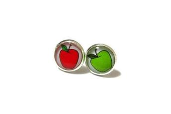 cute, Flowers, Apple, Jewellery