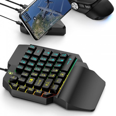 gamingkeyboard, ledkeyboard, Keyboards, k15onehandedgamingkeyboard