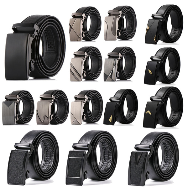 waiststrap, Leather belt, leather, automaticbuckle