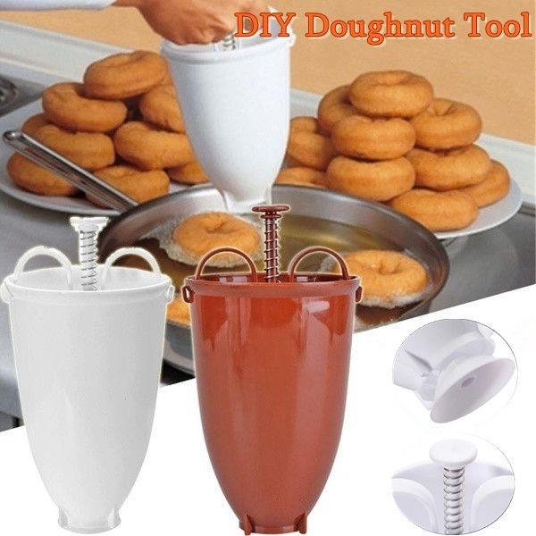 doughnutmaker, diycake, kitchengadget, doughnutmould