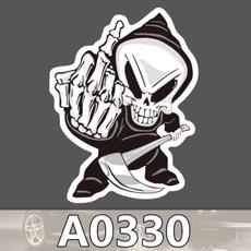 Car Sticker, skullsticker, carssticker, skull
