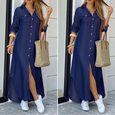denim dress, kleiddres, dressesforwomen, shirt dress