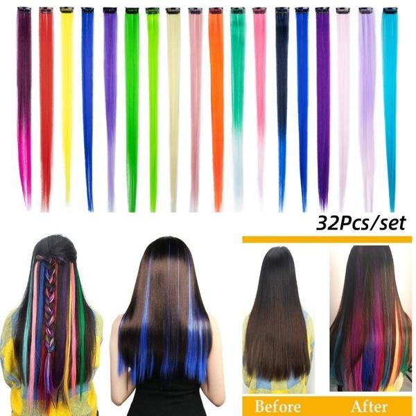 hairtoupee, rainbow, Hairpieces, Colorful