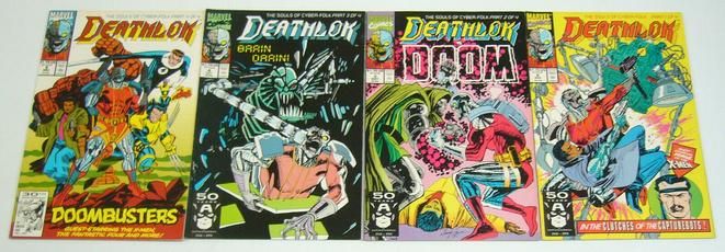 Marvel Comics, Set, vf, denyscowanmikemanley
