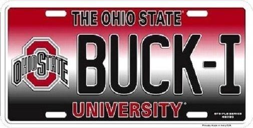 Ohio, ohiostatebuckeyesncaabuckilicenseplate, Ncaa, fanshopnfl