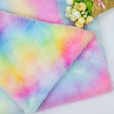plushfabric, rainbow, rainbowplushfabric, rainbowfabric