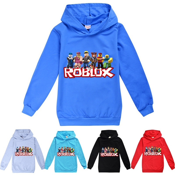 roblox, hooded, Cotton, For Boys