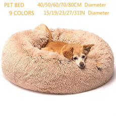 warmdogbed, puppy, donutdogbed, plushpuppybed