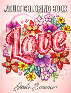 Beautiful, coloringbookforlover, Flowers, valentinesdaycoloringbook