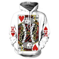 Hip-hop Style, Heart, Poker, Men
