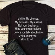 shirtsforwomen, Funny, Short Sleeve T-Shirt, Cotton Shirt