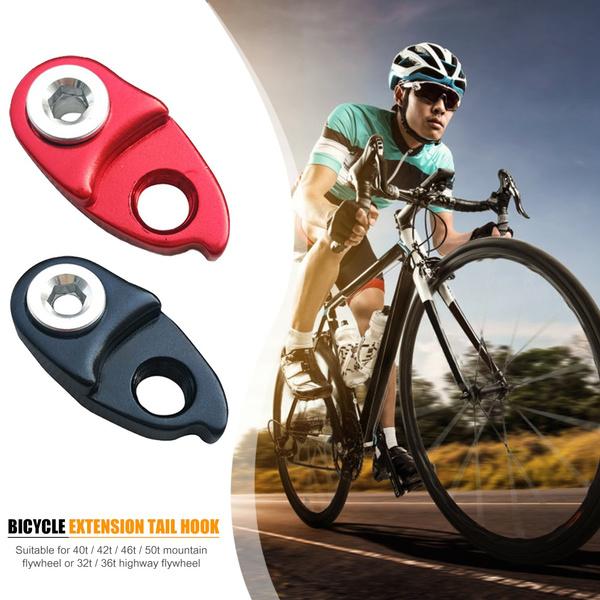 Bicycle Rear Derailleur Hanger Extension Extender MTB Bike Frame Gear Tail Hook