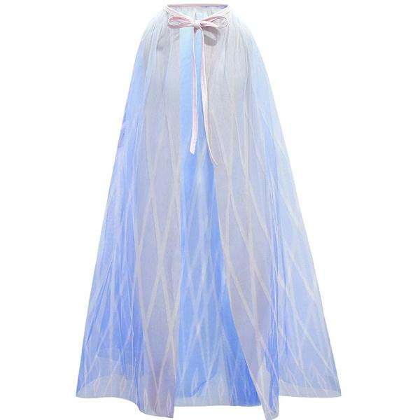 elsa dress, tulle, Cosplay, Princess