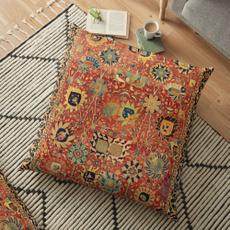 17thcenturyisfahanorkermanpersianrug, sofacushionpillowcase, Pillowcases, Rugs