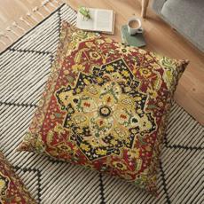 Antique, case, pillowcasehomebedding, backcushion