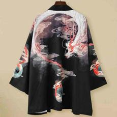 yukata, womenoutweartop, womenyukataoutwear, Chinese