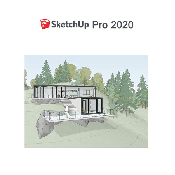 sketchuppro2020, sketchup2020