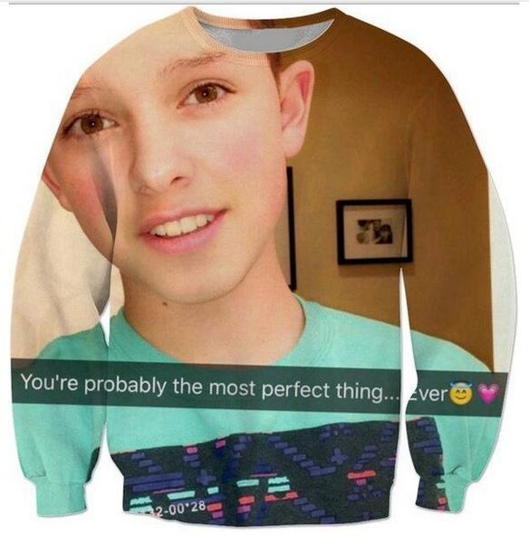 Emoji 3D Printed Crewneck Casual Long Sleeve Hip Hop Jacob Sartorius  Sweatshirts Music Boy Hoodies Sweats Outfits W29   Wish