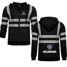 Fleece, Fashion, Sweatshirts & Hoodies, scania