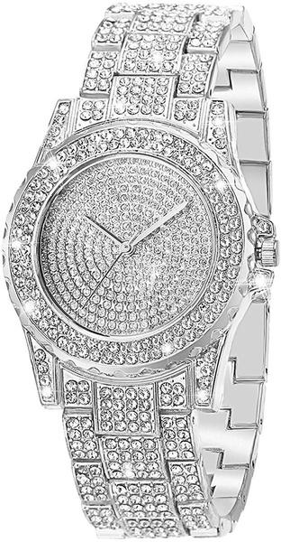 simplewatch, DIAMOND, rhinstonedialwatch, Watch