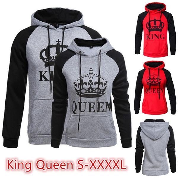 Couple Hoodies, King, Fashion, Long Sleeve