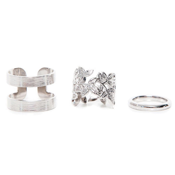 leavesring, hollowring, midifinger, finger ring