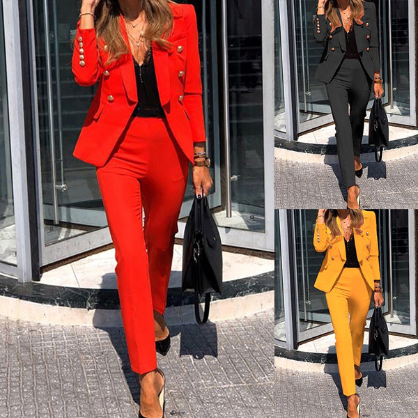 Two-Piece Suits, office dress, Spring, Suits & Blazers