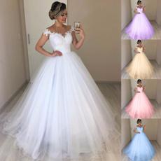 cute, Plus Size, Lace, gowns