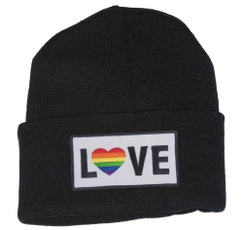 rainbow, Beanie, Fashion, Love