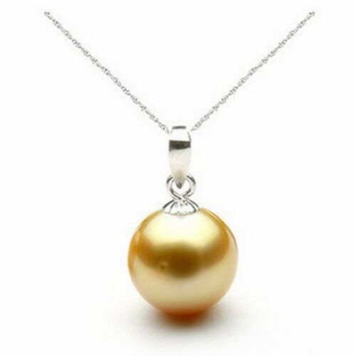 golden, Pendant, pearls, Necklace
