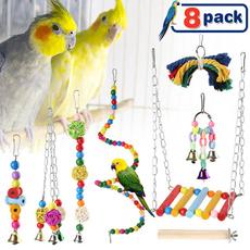 birdparrottoysetbirdswingtoy, Toy, birdtoy, birdcagetoysset