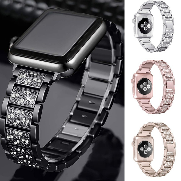 diamondwatchband, Bling, strap, Apple