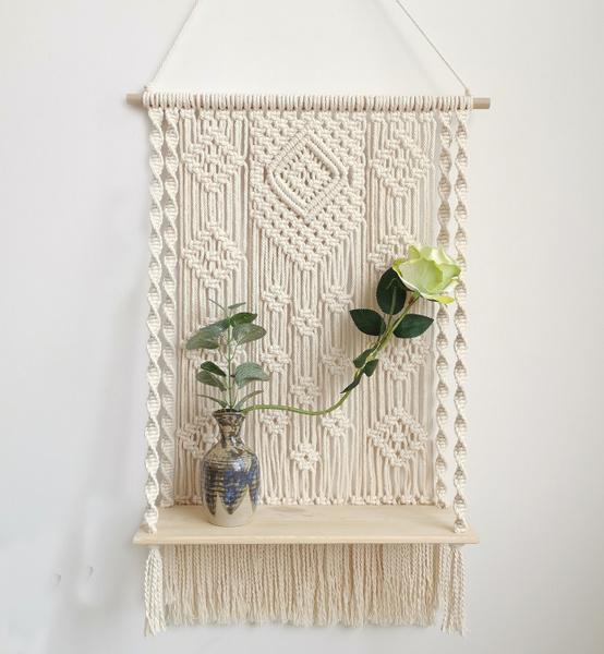 macramepothanger, largemacrameplanthanger, Plants, Outdoor