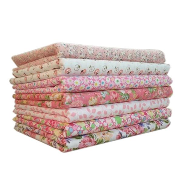 cottonquiltingsewingfabric, 7pcscottonsewingcloth, cottonfabricbundle, Quilting