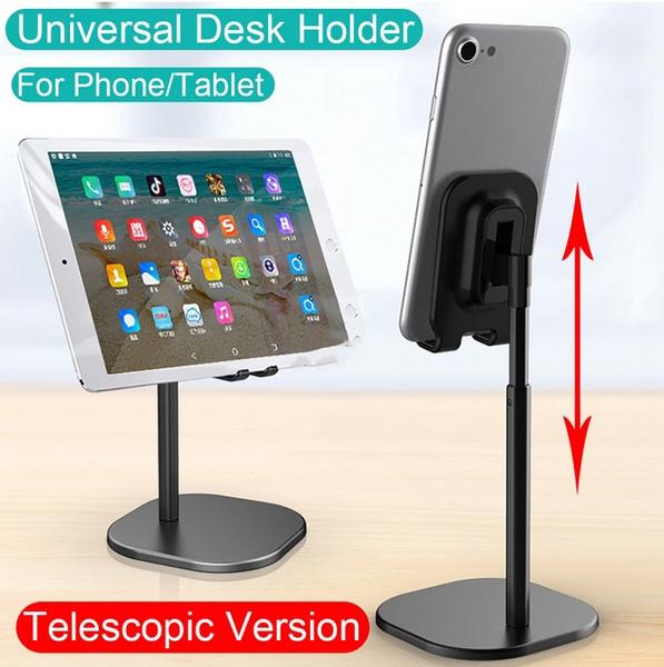 Universal Stand Holder Trap Dish Desktop Stand Holder Compatible with All Mobile Smart Phone Tablet Kindly PITCHBLA Cell Phone Desk Stand Holder
