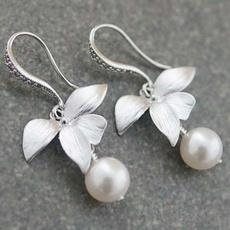DIAMOND, Love, Silver Earrings, Earring