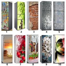 butterfly, art, freezedecal, Refrigerator