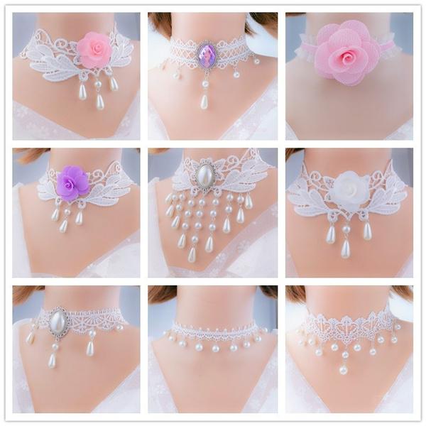 Tassels, Fashion, Lace, Chain