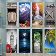 Vintage, doorstciker, Door, Home Decor