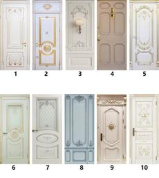 doorstciker, Door, Home Decor, creative gifts